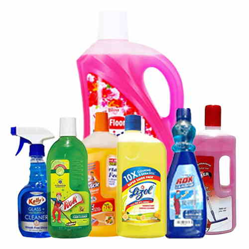 Floor & Glass Cleaners
