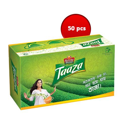 Brooke Bond Taaza Tea Bag 50 pcs