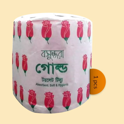 Bashundhara Gold Toilet Tissue 1 pcs