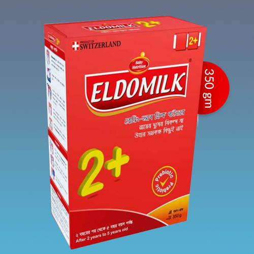ELDOMILK2+ Growing Up Milk Powder (2 - 5 Years) 350gm