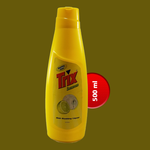 Trix Dishwashing Liquid Lemon Bottle 500 ml