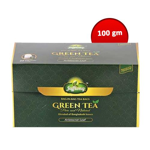 Jafflong Green Tea Bag 100 gm