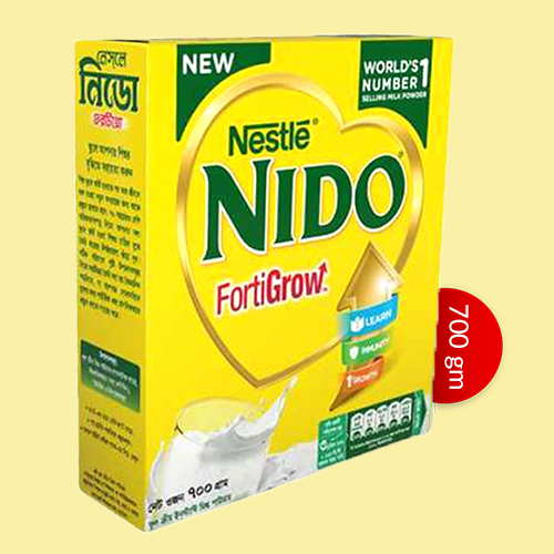 Nestlé NIDO Fortigrow Full Cream Milk Powder 700 gm