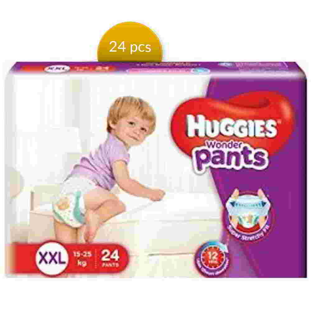 Huggies Baby Diaper WonderPants Pant XXL 15-25 kg 24 Pcs
