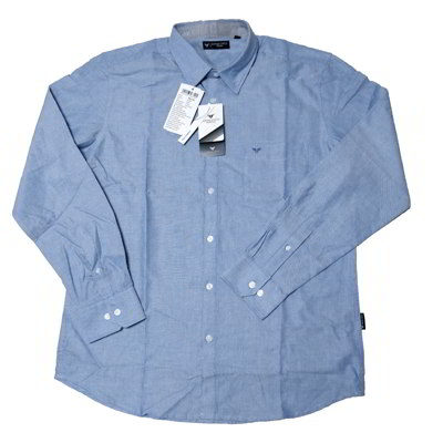 Formal Cotton Shirt-sky blue