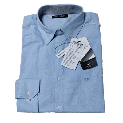 Formal Cotton Shirt- light blue