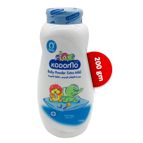 Kodomo Baby Powder Extra Mild 200 gm