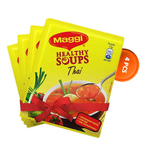 Nestlé Maggi Healthy Thai Soup (35 gm*4) 4 pcs