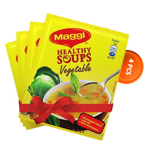 Nestlé MAGGI Healthy Soup Vegetables (25 gm*4) 4 pcs