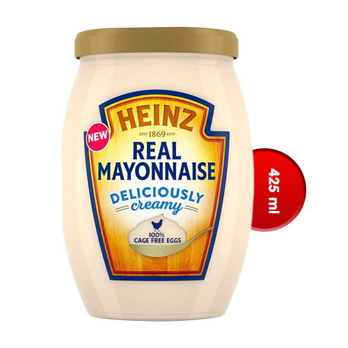 Heinz Real Mayonnaise Jar 425 ml