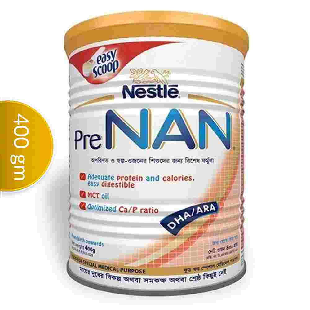 Nestlé PRE NAN Preterm & Low Birth Weight Infant TIN 400 gm