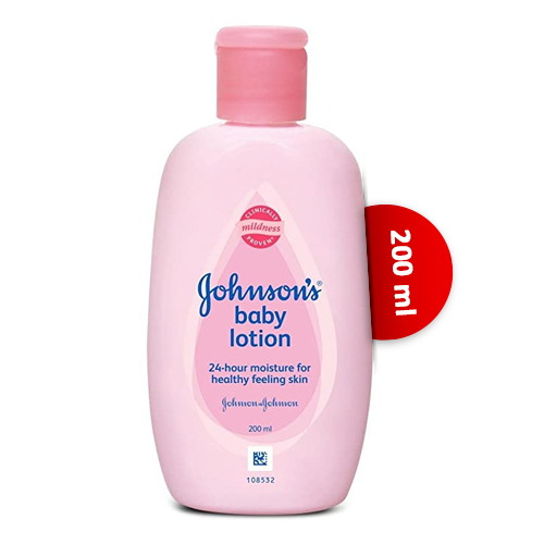 Johnson's Baby 24 Hour Moisture Lotion 200 ml