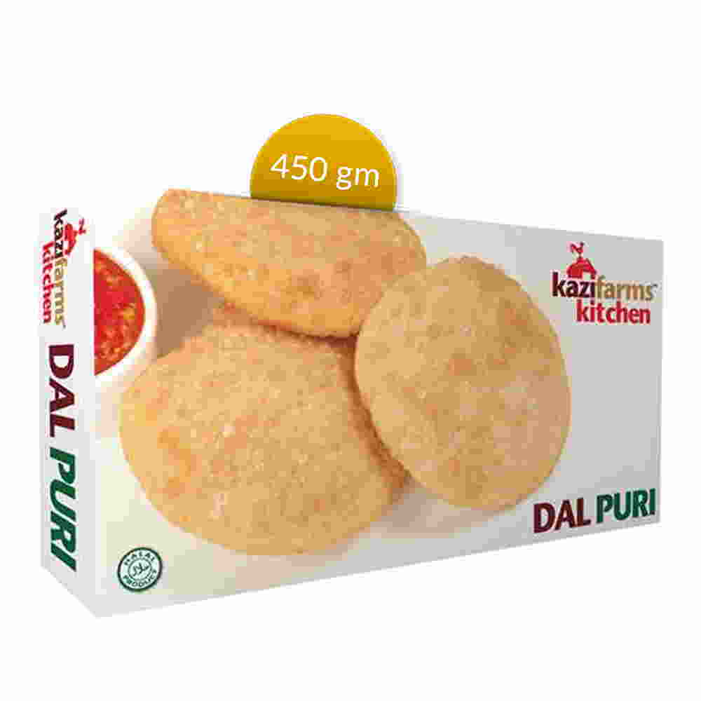 Kazi Farms Kitchen Dal Puri 10 pcs 450 gm