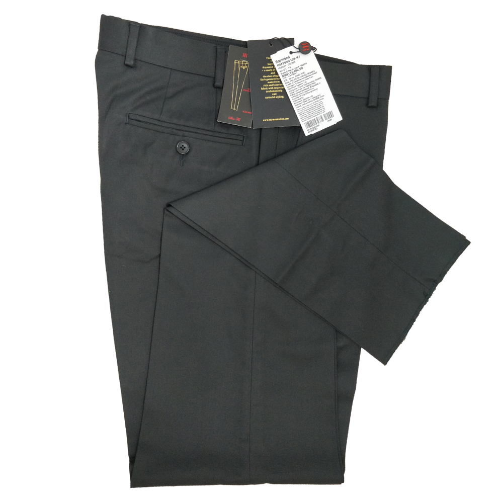 Slim Fit Formal Pant For Man - Black Colour