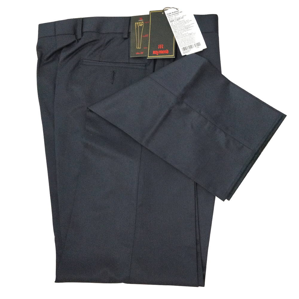 Slim Fit Formal Pant For Man - Blue - Black Colour