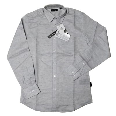 Formal Cotton Shirt-Gray