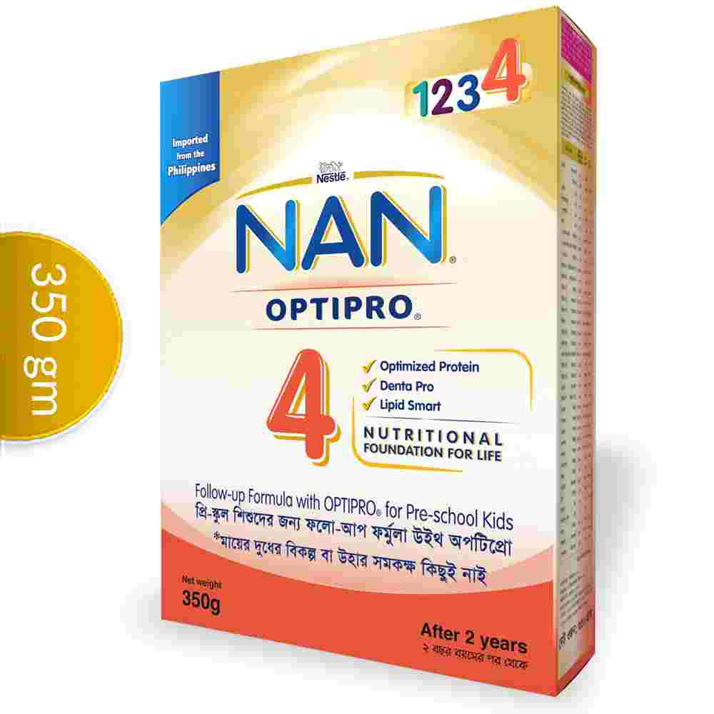 Nestlé NAN 4 OPTIPRO Follow Up Formula (2-5years) Box