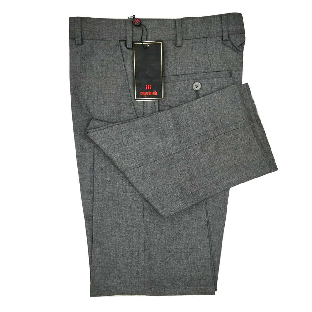 Slim Fit Formal Pant For Man - Gray Colour