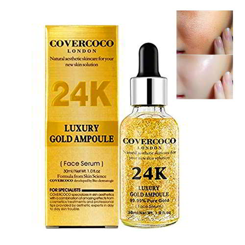 COVERCOCO LONDON 24k Luxury Gold Ampoule