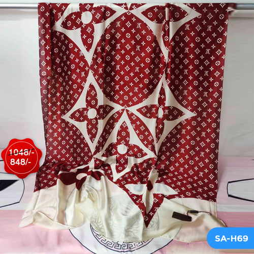 Louis Vuitton Silk Scarf SA-H69