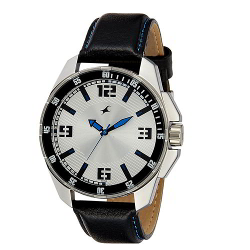 Fastrack White Dial Wristwatch - 3084SL01