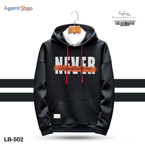Men's Hoodies Jacket Casual Sweatshirt LB-502