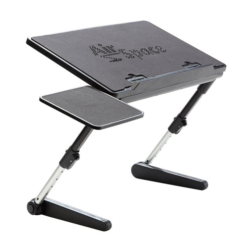Air Space Laptop Desk with Built-in Cooling Fan