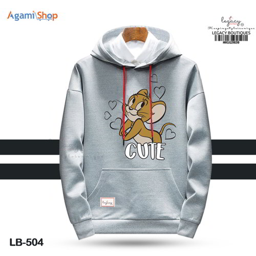 Men's Hoodies Jacket Casual Sweatshirt LB-504
