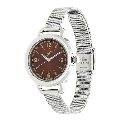 Brown Color Fastrack Girl Casual Watches AS6123SM04