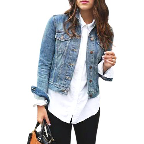 Denim Short ladies Jacket ASLJ-3