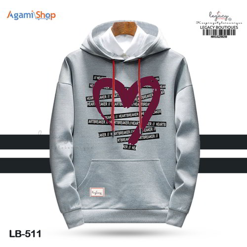 Men's Hoodies Jacket Casual Sweatshirt LB-511