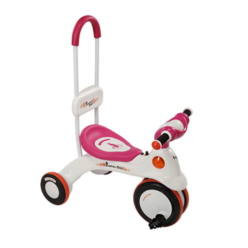 Captain Bike Trolley - White & Pink