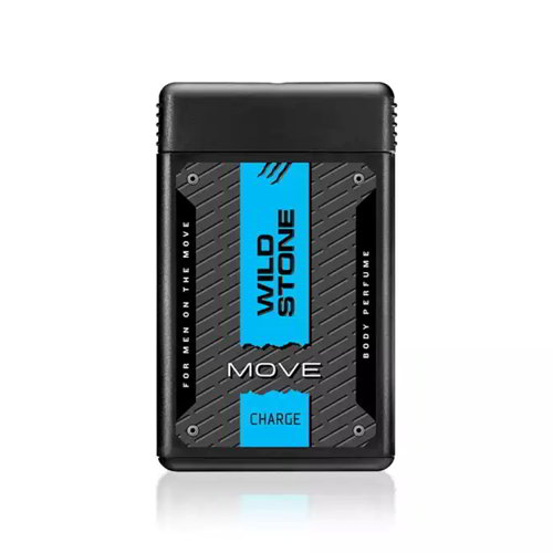Wild Stone MOVE Charge Pocket Perfume for Men - 18ml