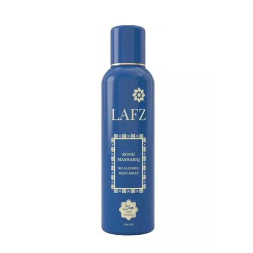 THE LAFZ ROOH MASHARIQ No Alcohol Body Spray for Men - 100gm