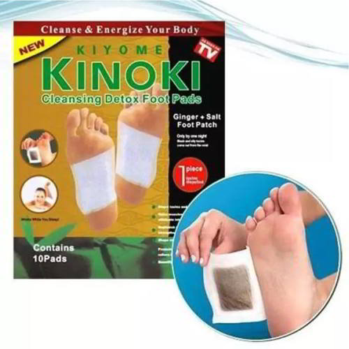 High Quality Kinoki Gold Cleansing Detox Foot Pad - 10 Pads