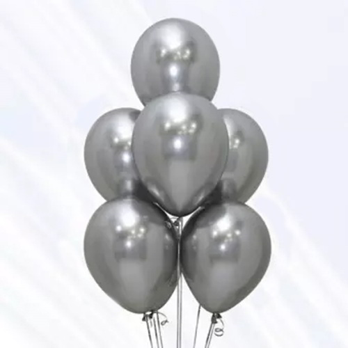 Silver Balloon - 20pcs