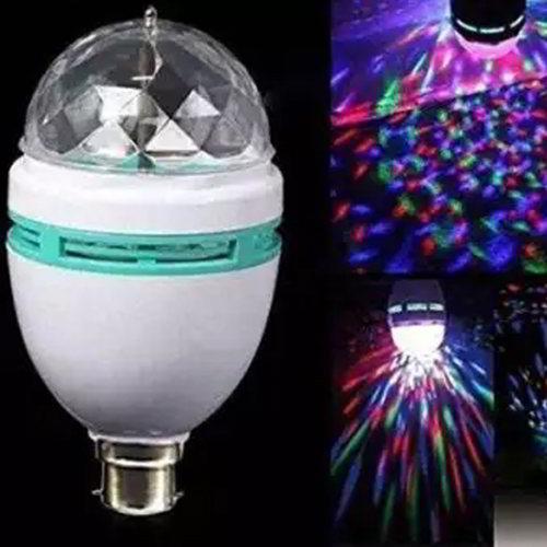 360 Degree LED Rotating Bulb Magic Disco Light for Party