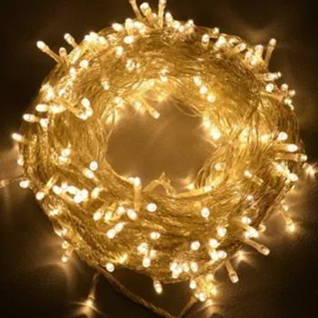 Fairy Decorative Golden Light - 100 led